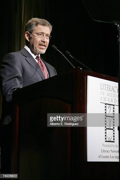 Presenter Warner Bros CEO Barry Meyer attends the Literacy Networks' LIMA awards dinner on April 29 2007 in Los Angeles California