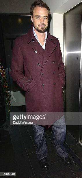 Presenter/Actor Jamie Theakston attends the VIP Australia Day Party in aid of Great Ormond Street Hospital on January 26, 2004 at east@west, Covent...