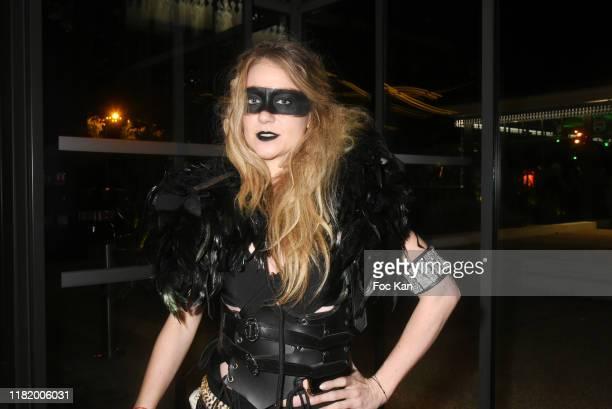 TV presenter/comedian Cyrielle Joelle attends the Bal Masque de Monsieur D At Pavillon d'Armenonville on October 18 2019 in Paris France