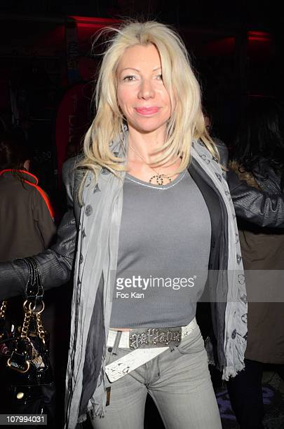 TV presenter/former X actress Nadine Rodd attends the 'High Heel Race' Hosted by Sarenza Shoes at the Piscine Molitor on December 3 2010 in Paris...
