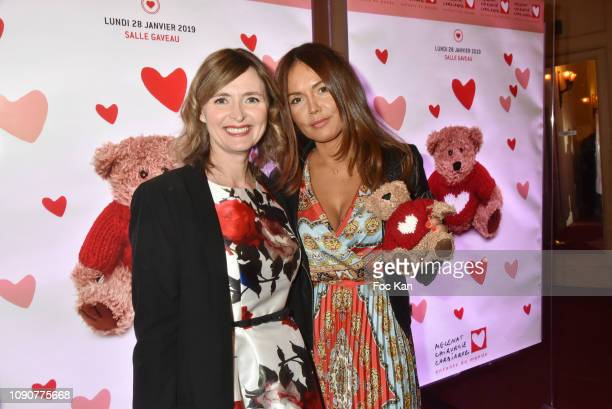 TV presenters Annabelle Milot and Karine Arsene attend the Gala du CÏur Auction Concert To Benefit Mecenat Chirurgie Cardiaque At Salle GaveauÊ on...