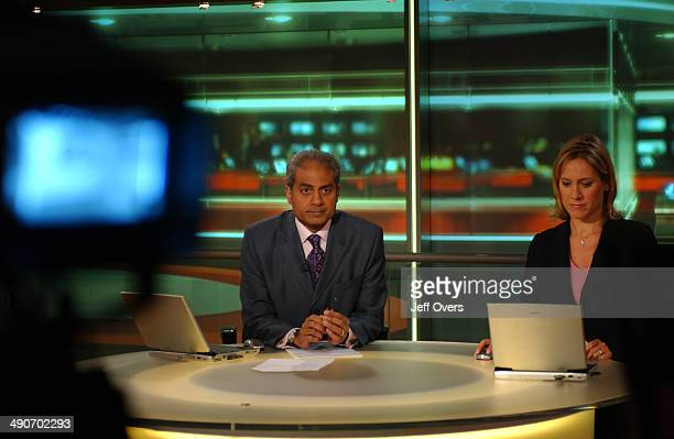 Presenters George Alagiah and Sophie Raworth The Six O'Clock News celebrates its 20th Anniversary on 3rd September 2004
