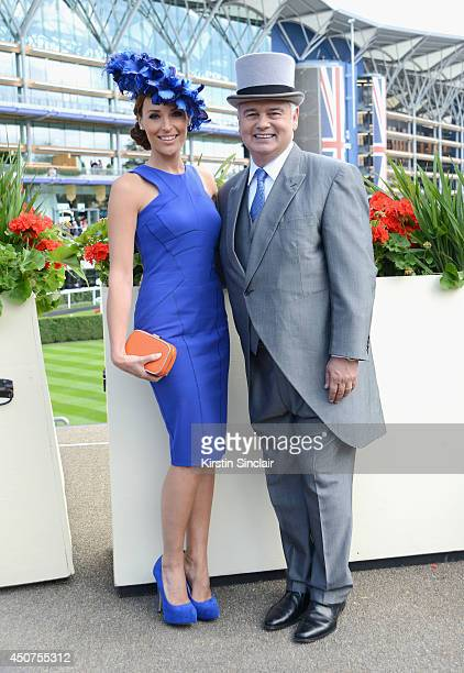 Presenters Isabel Webster and Eamonn Holmes attend day one of Royal Ascot at Ascot Racecourse on June 17 2014 in Ascot England