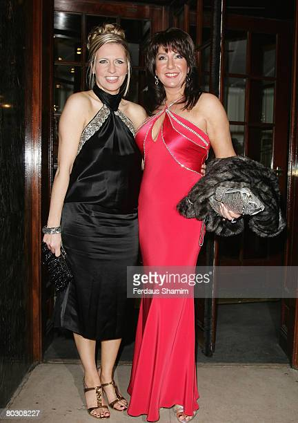 Presenters Jackie Brambles and Jane McDonald attend The Royal Television Society Programme Awards held at the Grosvenor House Hotel on March 19, 2008...