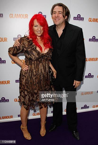Presenters Jane Goldman and Jonathan Ross attends the Glamour Women Of The Year Awards held at Berkeley Square Gardens on June 3, 2008 in London,...