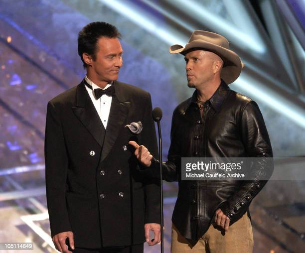 Presenters Lance Burton and Mark Miller during 38th Annual Academy of Country Music Awards Show at Mandalay Bay Event Center in Las Vegas Nevada...