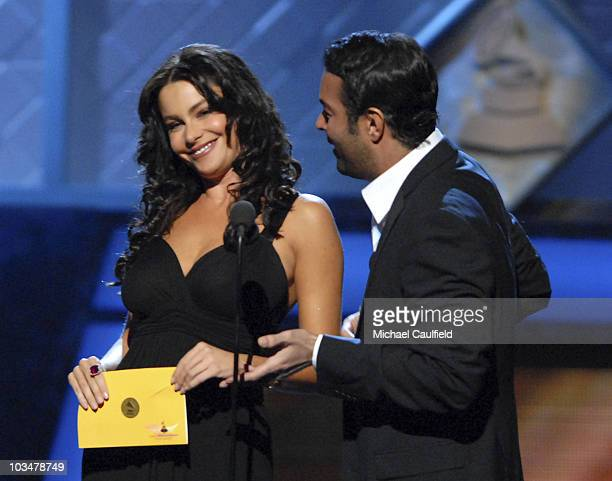 Presenters Lucero and Egenio Derbez during the 8th Annual Latin GRAMMY Awards at Mandalay Bay on November 8 2007 in Las Vegas Nevada