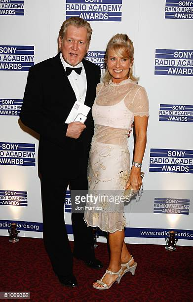 Presenters Mike Smith and Sarah Greene arrives at the Sony Radio Academy Awards held at the Grosvenor House Hotel on May 12 2008 in London England