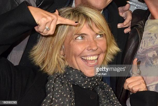 TV presenters Nathalie Vincent attends 'La Tele Chante' Party during La Fete A Neu Neu At La Porte De La Muette on September 14 2013 in Paris France