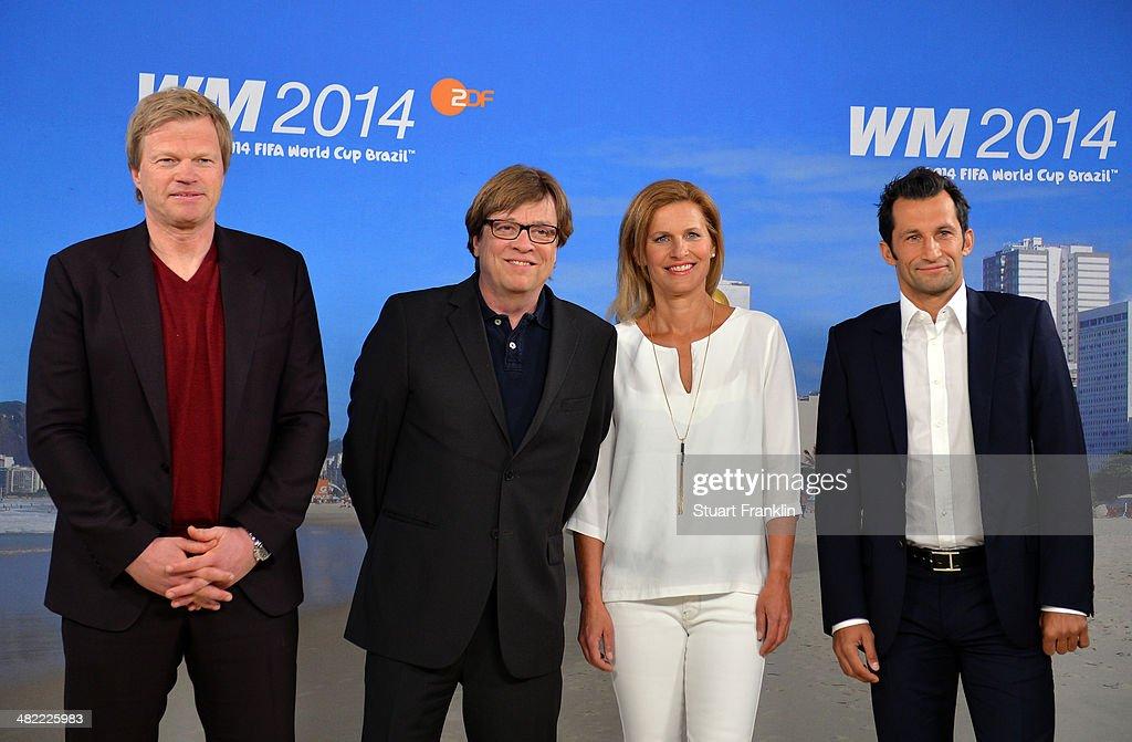 ARD/ZDF Presents FIFA World Cup 2014 Team : News Photo