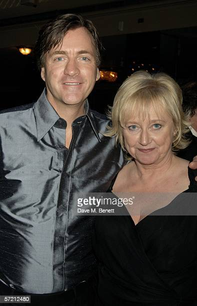 TV presenters Richard Madeley and Judy Finnegan attend the British Book Awards at Grosvenor House on March 29 2006 in London England The literary...