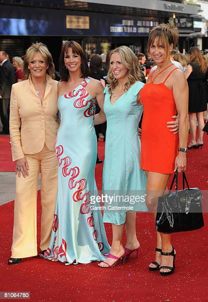 Presenters Sherrie Hewson, Andrea McLean, Jackie Brambles and Carol McGiffin attends the World Premiere of 'Sex And The City' held at the Odeon...