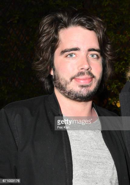 TV presenters/comedians Eric Metzger attends 'Tonic Follies' Villa Schweppes Before Cannes Festival Party at Foundation Mona Bismarck on April 20...