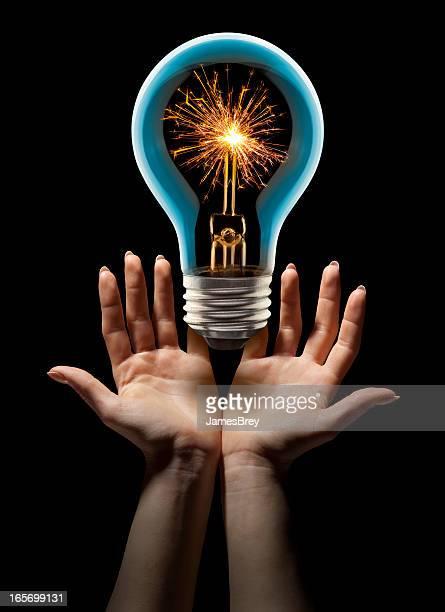 Freuen Sie sich auf eine fantastische, brutzelnd heiße neue Idee
