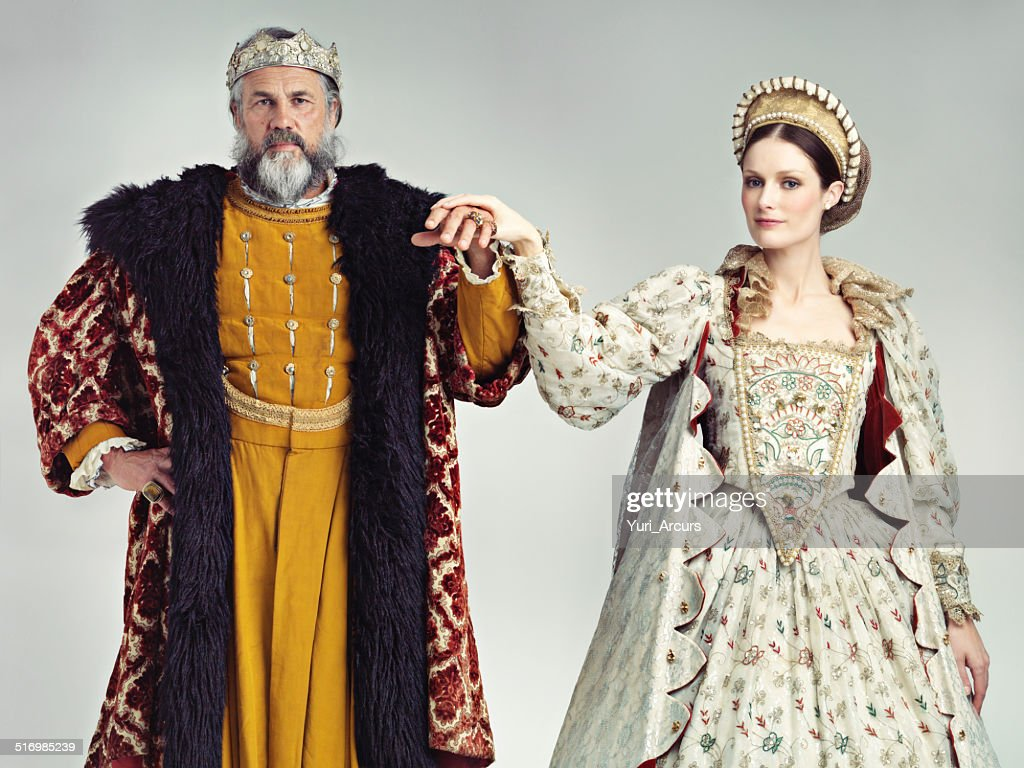 Presenting your Lord and Lady : Stock Photo