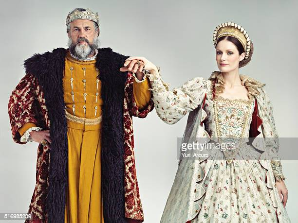 presenting your lord and lady - queen royal person stock pictures, royalty-free photos & images