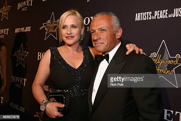 BOVET 1822 presents 8th annual Hollywood Domino Gala attended by actress Patricia Arquette and Bovet CEO Pascal Raffy benefiting Artists For Peace...