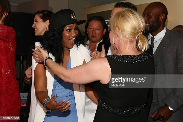 BOVET 1822 presents 8th annual Hollywood Domino Gala attended by actresses Garcelle Beauvais and Patricia Arquette benefiting Artists For Peace And...