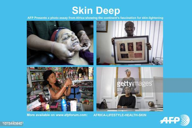AFP presents a package of 48 photographs from across Africa depicting the continent's obbsession with skinlightening The pictures are to accompany a...