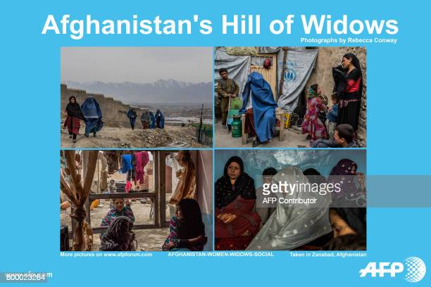 AFP presents a photo essay of 16 images by photographer Rebecca Conway on Afghan widows living in 'Zanabad' the city of women The first ones settled...