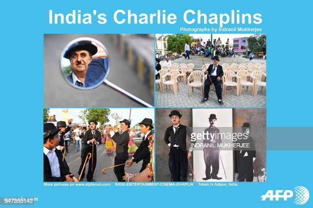 AFP presents a photo essay of 20 images by photographer Indranil Mukherjee of Charlie Chaplin impersonators taking part in an event commemorating the...