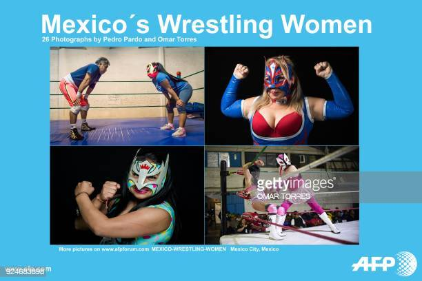 Presents a photo essay of 26 images by photographers Pedro Pardo an Omar Torres on Mexico's Wrestling Women. - More images can be found in...