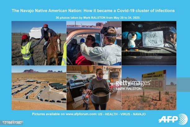 Presents a photo essay of 36 images by photographer Mark RALSTON on the Navajo Nation during the coronavirus pandemic. - More images can be found on...