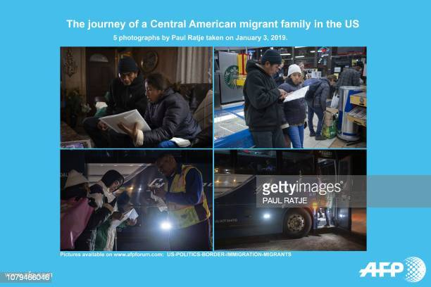 AFP presents a photo essay of 5 images by photographer Paul Ratje taken on January 3 at Las Cruces and Dona Ana New Mexico showing Ricardo ChubBo and...