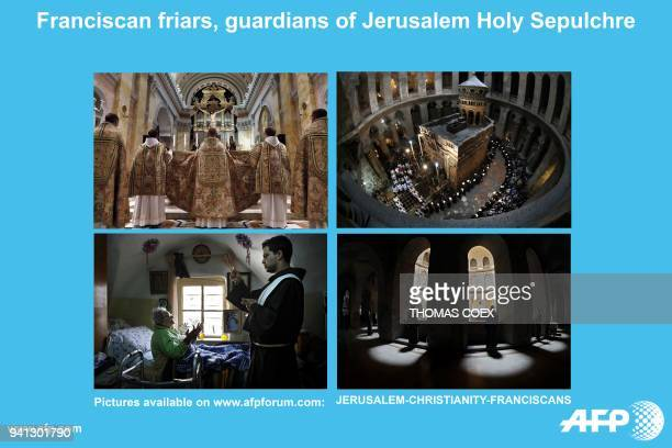 AFP presents a photo essay of 94 images by Thomas Coex on eight centuries of the presence of the Catholic Franciscan order in the holy land More...