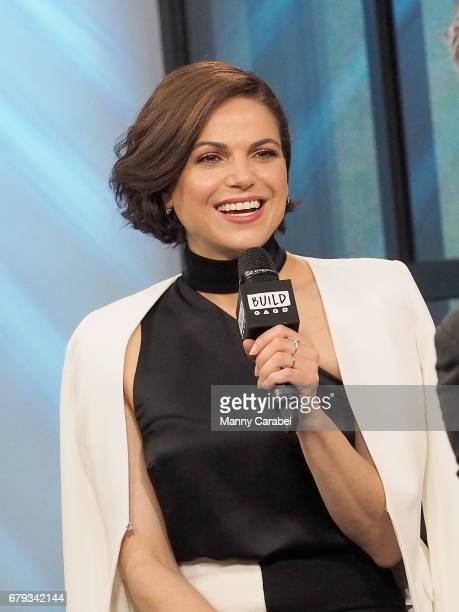 Presents Lana Parrilla discussing the show 'Once Upon A Time' at Build Studio on May 5 2017 in New York City