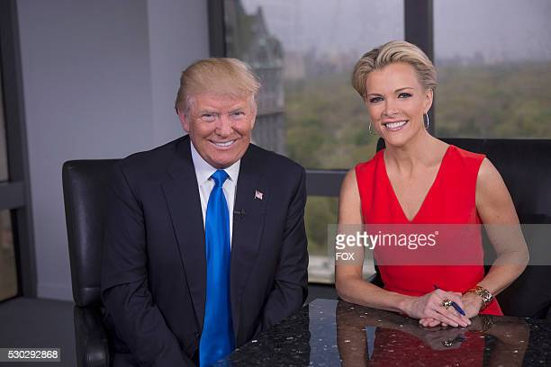 Megyn Kelly and Donald Trump during the FOX special MEGYN KELLY presents airing Tuesday May 17 on FOX