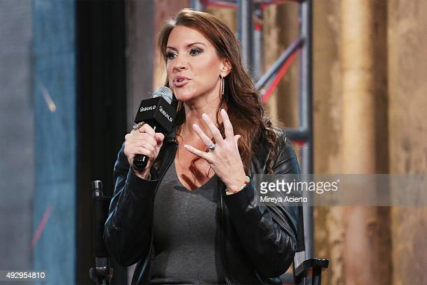 Presents Stephanie McMahon at AOL Studios In New York on October 16 2015 in New York City