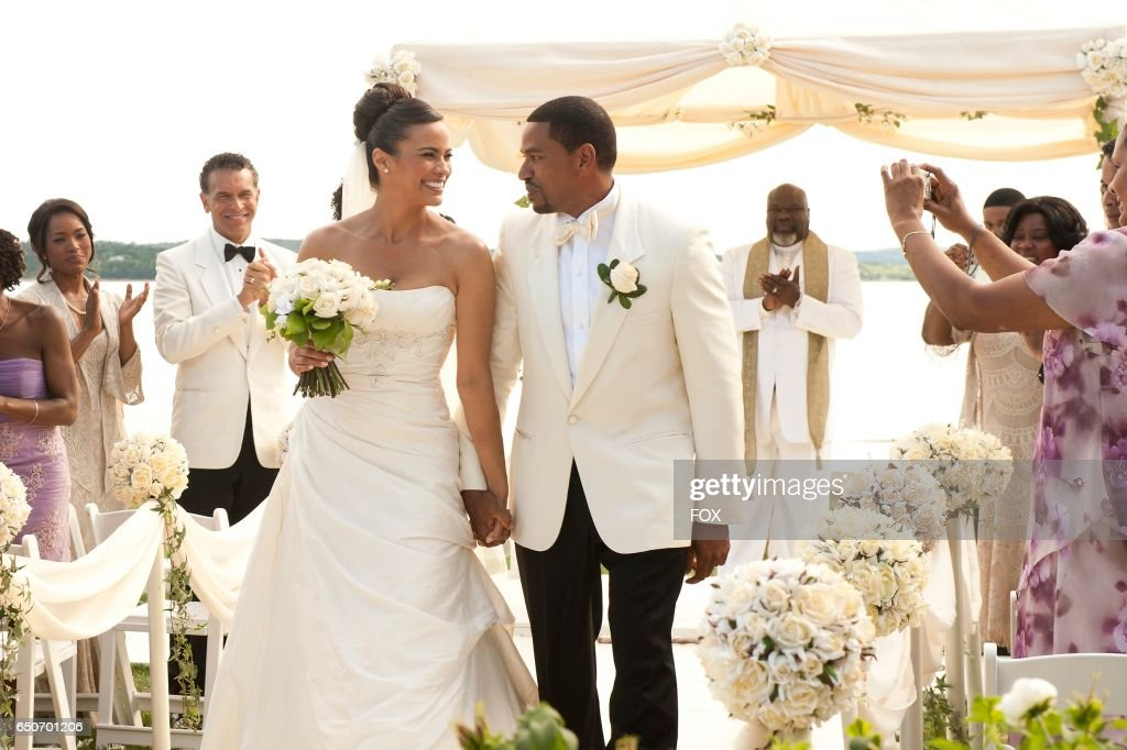 FOX Presents the network premiere of the feature film Jumping The Broom, airing Friday, May 13 (8:00-10:00 PM ET/PT) on FOX. Pictured: Angela Bassett, Brian Stokes Mitchell, Paula Patton, Laz Alonso, T.D. Jakes and Loretta Devine.