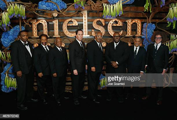 Preservation Hall Jazz Band attends Nielsen Hosts PreGRAMMY Celebration Connecting Media Brands and Entertainment on February 7 2015 in Los Angeles...