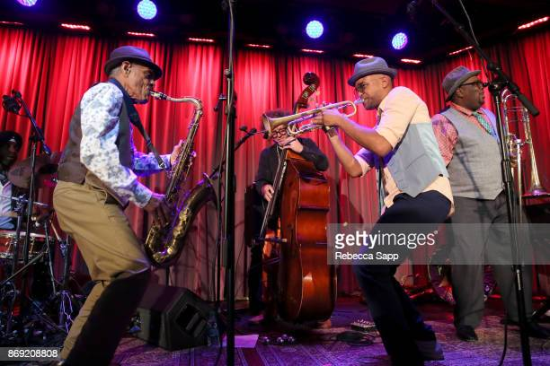 Preservation Hall Jazz Band performs at An Evening With Preservation Hall Jazz Band on November 1 2017 in Los Angeles California