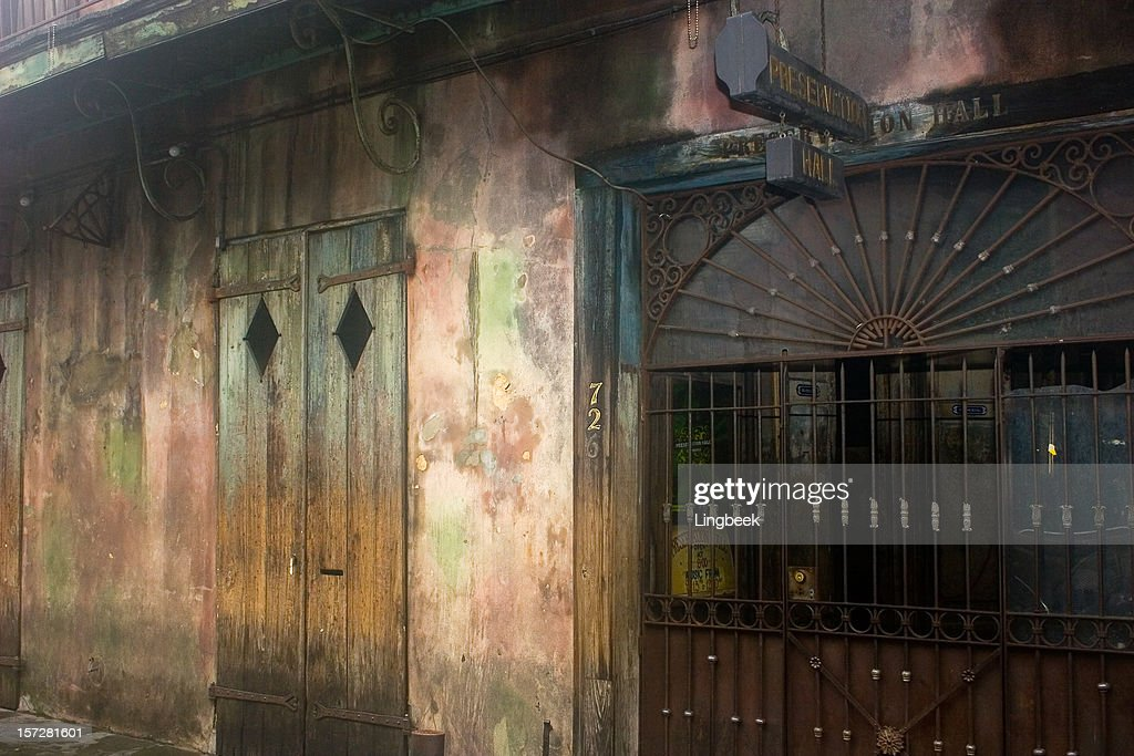 Preservation Hall : Stock Photo
