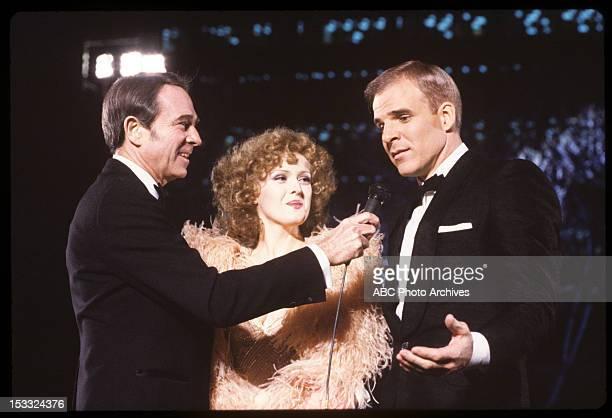 Pre-Show Coverage - Airdate: March 31, 1981. ARMY ARCHERD;BERNADETTE PETERS;STEVE MARTIN