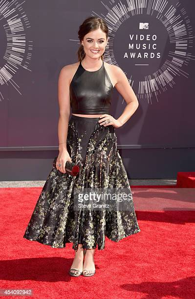 Preshow host Lucy Hale attends the 2014 MTV Video Music Awards at The Forum on August 24 2014 in Inglewood California