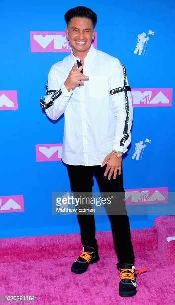 Preshow host Pauly D attends the 2018 MTV Video Music Awards at Radio City Music Hall on August 20 2018 in New York City