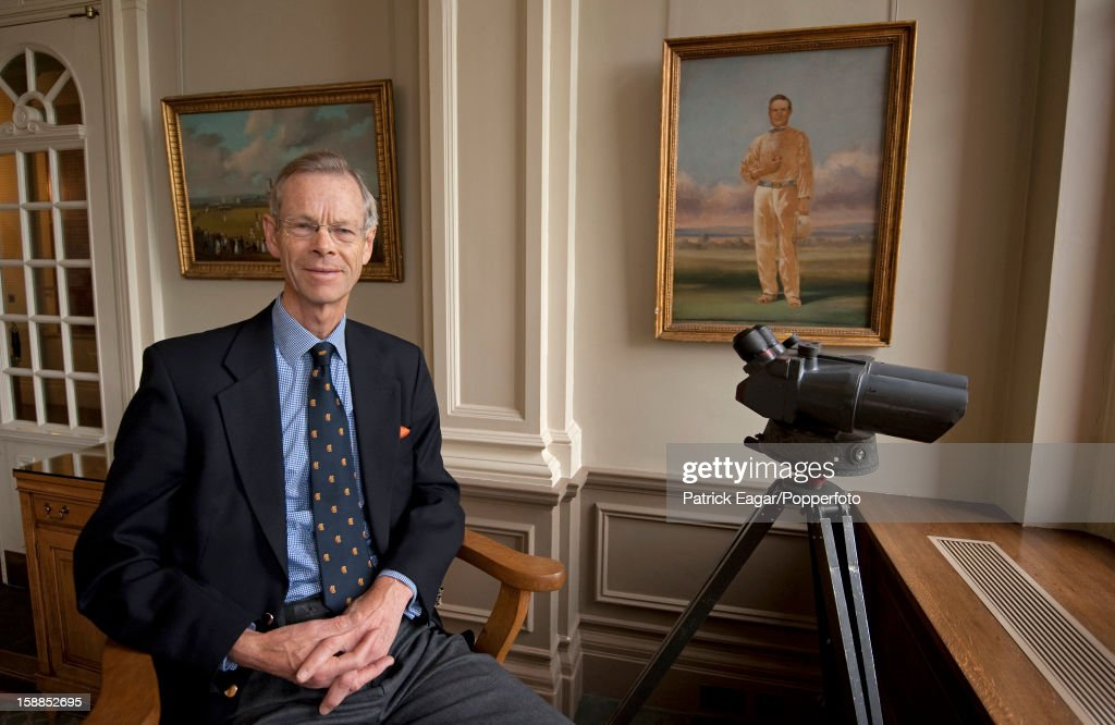 FILE - Cricket Commentator Christopher Martin-Jenkins Dies At 67 : News Photo
