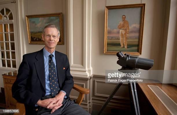 President 2010 - 11, Christopher Martin-Jenkins on October 27, 2012 in London, England.