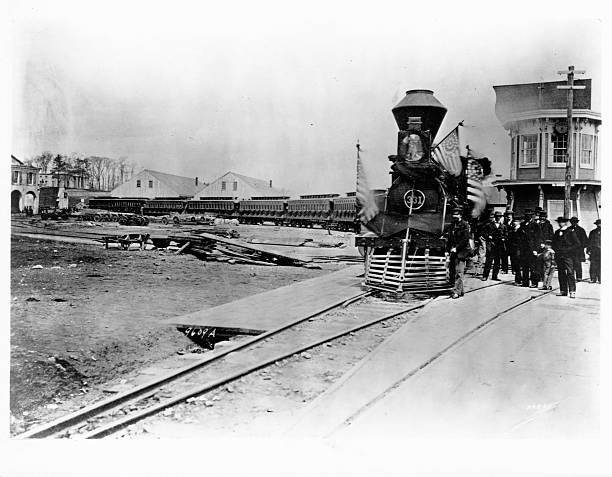 President Abraham Lincoln S Funeral Train Pictures Getty Images