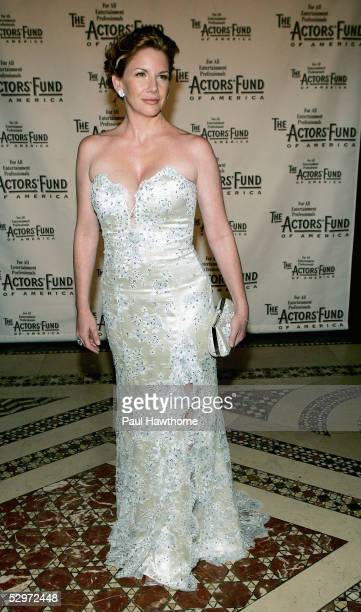 President Actress Melissa Gilbert attends The Actors Fund of America There's No Business Like Show Business Gala at Cipriani 42nd Street May 23 2005...