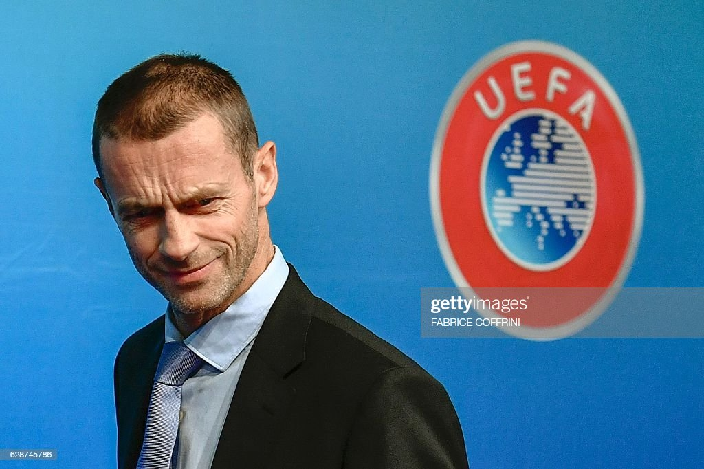 UEFA President Aleksander Ceferin press conference