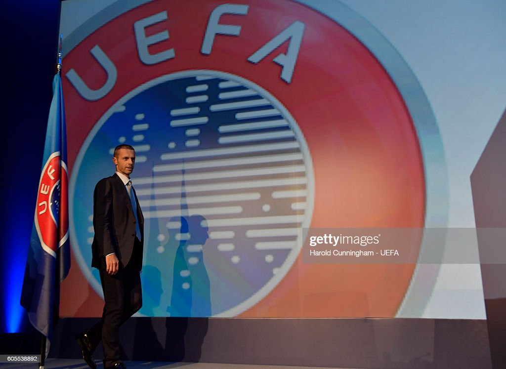President Aleksander Ceferin during the 12th Extraordinary UEFA Congress at the Grand Resort Lagonissi Hotel, on September 14, 2016 in Athens, Greece.