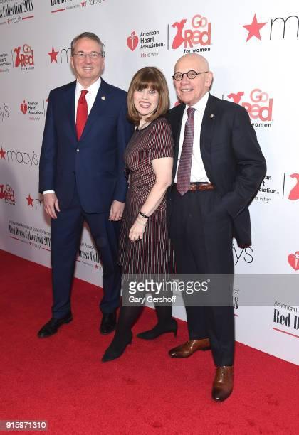 President American Heart Association Dr John Warner CEO American Heart Association Nancy Brown and Board Chairman American Heart Association James...