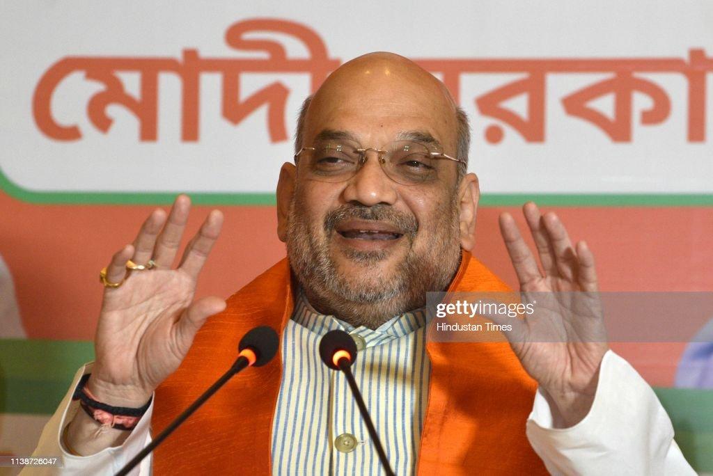 IND: BJP President Amit Shah In Kolkata