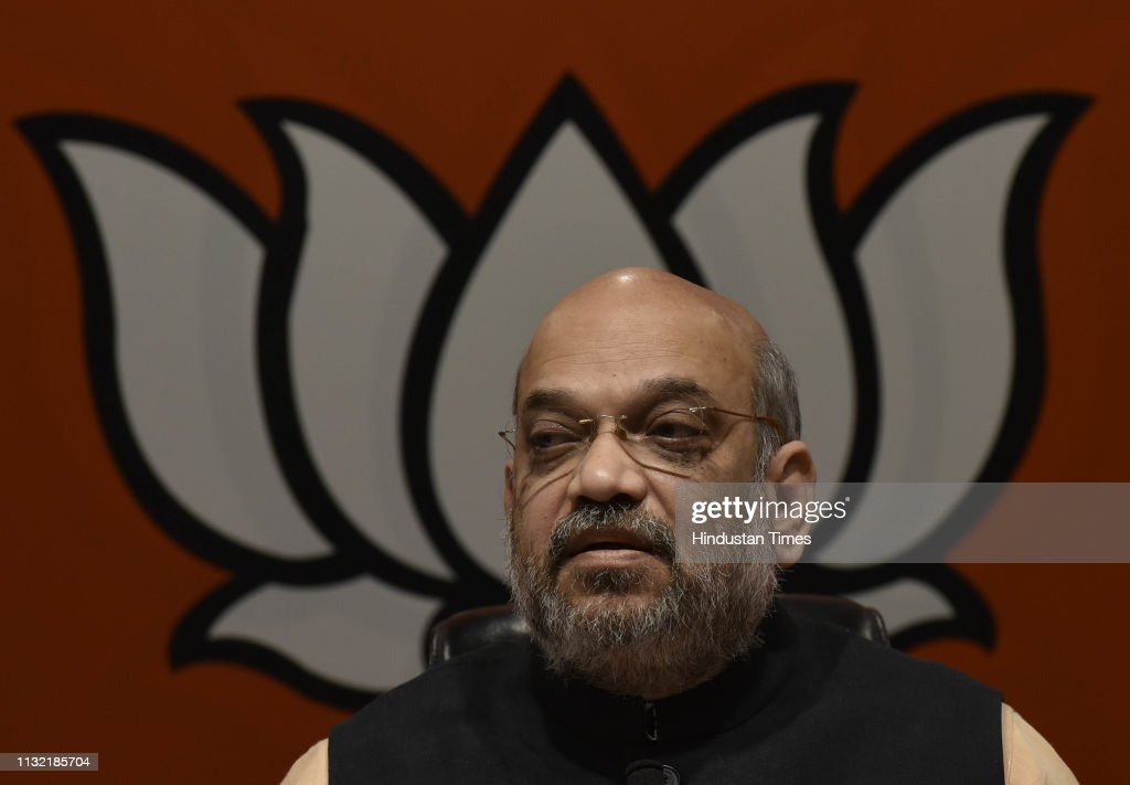 IND: BJP President Amit Shah Addresses A Press Conference At BJP Headquarters