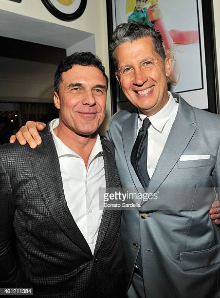 President and CEO Andre Balazs Properties Andre Balazs and EditorInChief W Magazine Stefano Tonchi attend the W Magazine celebration of the 'Best...