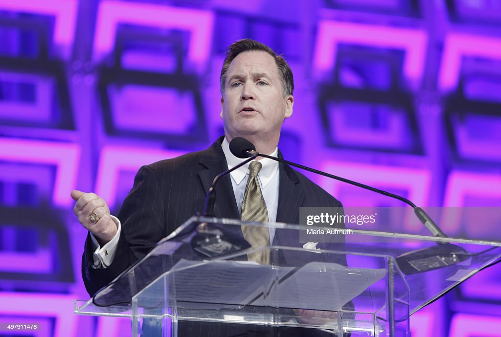 President and CEO, Beneficial Bank Gerard Cuddy speaks during Pennsylvania Conference For Women at Pennsylvania Convention Center on November 19, 2015 in Philadelphia, Pennsylvania.